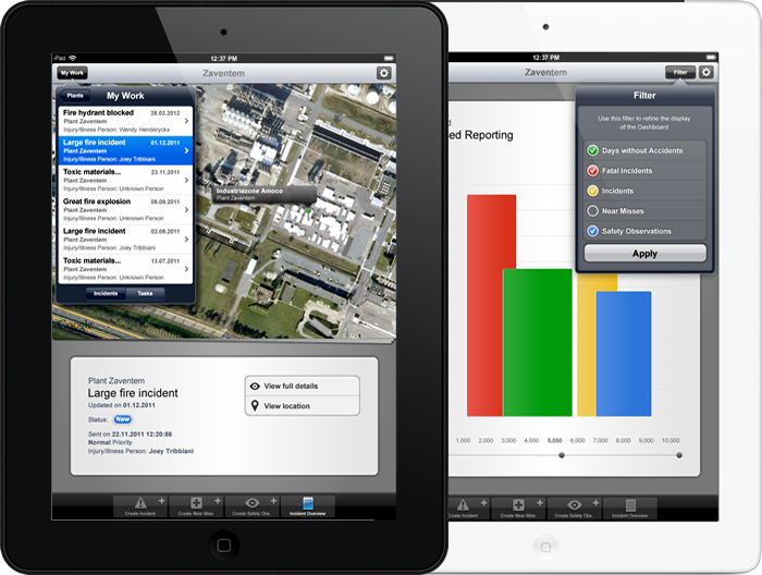 iEHS - Incident Overview and Dashboard (portrait)