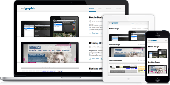 Webgraphix Network - New Responsive Design Website